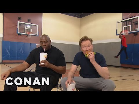 Conan Plays Horse With Magic Johnson  - CONAN on TBS - Thời lượng: 6:24.