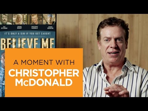 Believe Me Featurette 'Christopher McDonald'