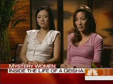Ziyi Zhang and Michelle Yeoh talk about Mememoirs of A Geisha on NBC's Today show