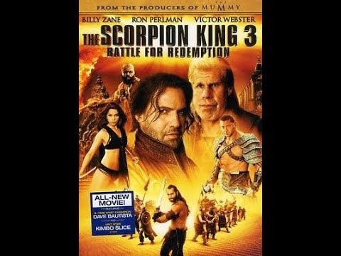 Opening To The Scorpion King 3:Battle For Redemption 2012 DVD