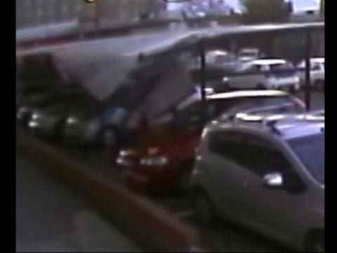Hombre sobrevive a una caida de 17 pisos en Chile