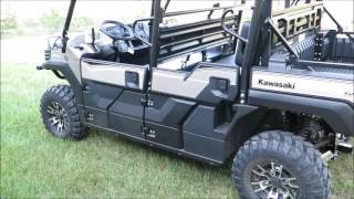 6. Kawasaki Mule 2017 PRO FXT RANCH EDITION