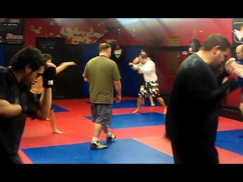 SSF Submission Academy - Boxing class at SSF Submission Academy in Clarksville TN.