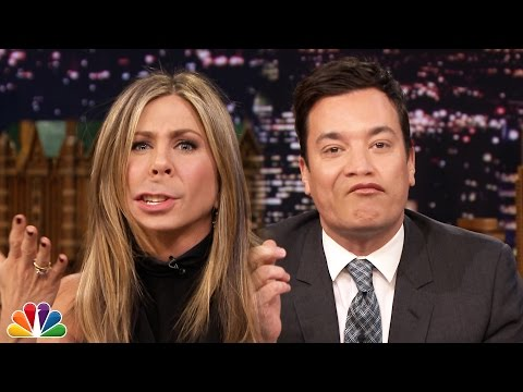 Lip Flip with Jennifer Aniston