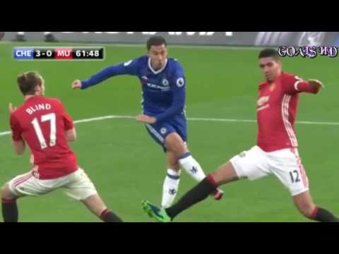 Chelsea vs Manchester United 4 0 Goals Highlights 23 10 2016 HD