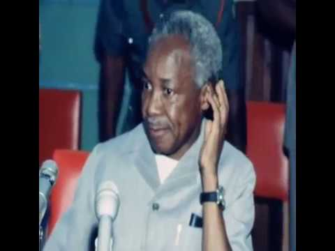 Julius Nyerere Speaks On Idi Amin And Uganda  (1979)