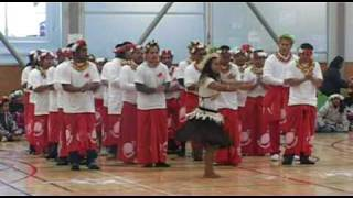 Miss Kiribati 2009 from Marewen Kiribati Cultural Group Manurewa Auckland NZ during the Kiribati 30th Independence...