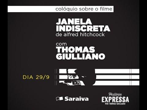 "Palestra sobre o filme ""Janela Indiscreta"" de Alfred Hitchcock"