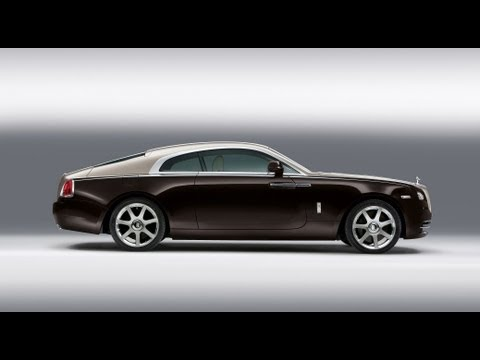 Geneva Auto Show: Rolls Royce Wraith Breaks Cover