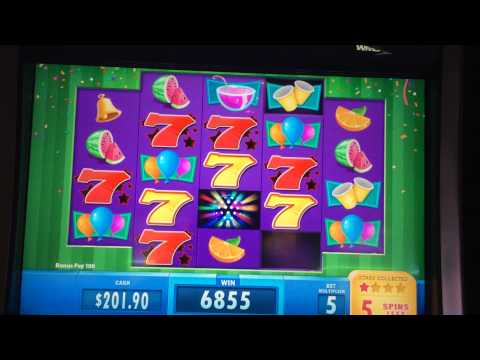 Jackpot Party Progressive Deluxe Slot Machine Bonus