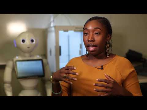 Ph.D. Student Seeks to Help Children through Robotics