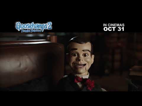 THE GOOSEBUMPS 2: HAUNTED HALLOWEEN MONSTERS ARE ARRIVING OCT 31