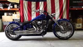 9. Harley Davidson Softail Rocker C 120R BSC Custom Build