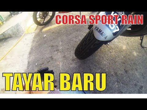 Video Yamaha R25 Tukar Tayar Corsa Sport Rain download in MP3, 3GP, MP4, WEBM, AVI, FLV January 2017