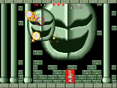 Super Mario Bros. X (SMBX) - V.S Boss Battles playthrough