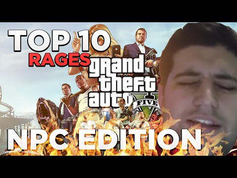 Download GTA V - TOP 10 RAGES NPC EDITION HD Mp4 3GP Video and MP3