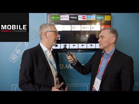 Eset | Erster Virenschutz für Smart-TVs | MWC 2018