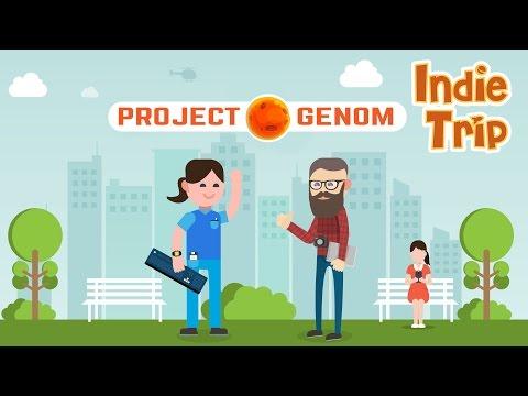PROJECT GENOM, игра где Sci-fi, встречает MMO