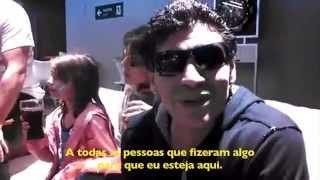 VÍDEO: Diego Maradona manda recado para os mineiros e comenta sobre o jogo entre Argentina e Irã