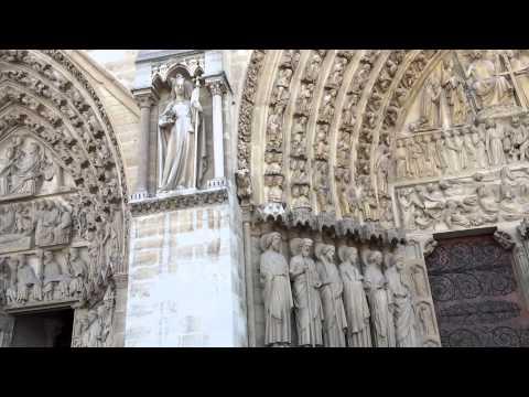 Cathedrale Notre Dame de Paris West Facade