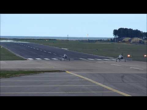 This was filmed at RAF Leuchars...