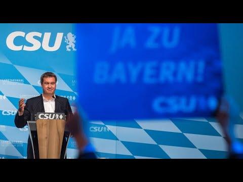 Wahlkampfabschluss: Markus Söder lobt Deutschland - u ...