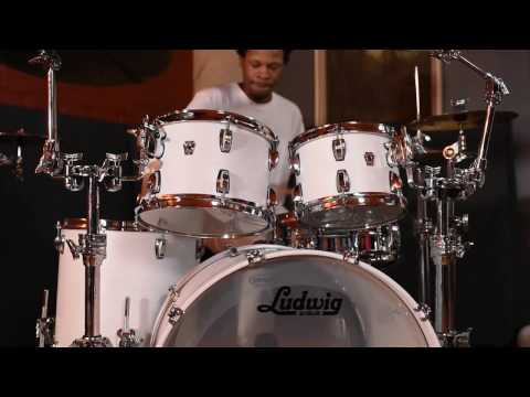 Ludwig Drums Keystone X with Greg Landfair Jr.