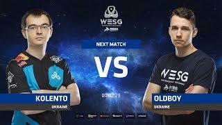 Kolento vs OldBoy, game 1