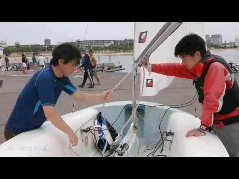 人気のヨット体験 県立海洋体育館