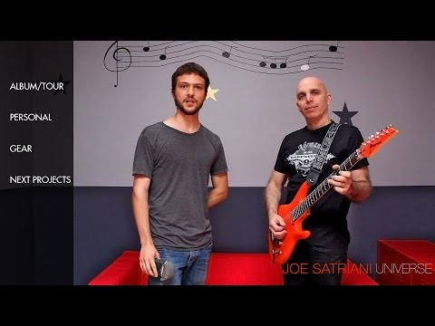 Joe Satriani – The Ultimate Interview 2014