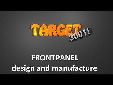 Design and order front panels with TARGET 3001!