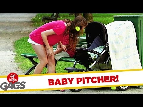 Hall of Fame Baby Pitcher Gag - Youtube