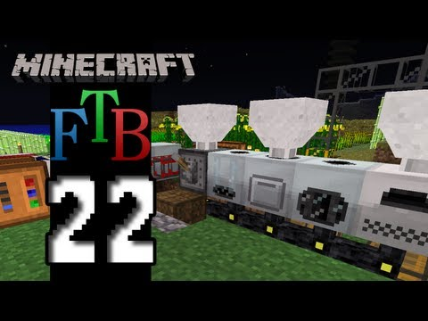 Minecraft Feed The Beast – S2E22 – Flightless Friends