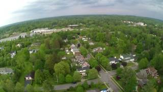 Drone video on 5/28/17 from my backyard on North St. You can see the Elma water tower, Fisher Price, EAMS (middle school) and part of Main St EA.
