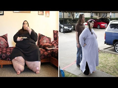 男子本來不相信270公斤女友可以瘦下來,沒想到只是1年而已…他們終於有機會「行房」!