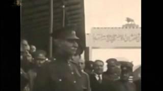 فیلم قدیمی افتتاح راه اهن توسط رضا شاه بزرگ