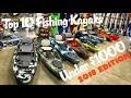 Top 10 Fishing Kayaks Under $1000   2018 Edition