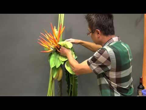 B93 Tropical Flower Arrangement 熱帶花藝擺設