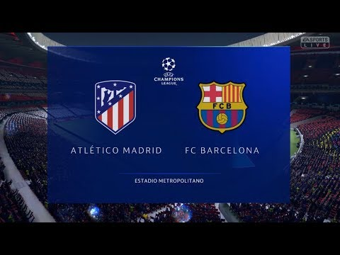 FIFA 19 | FINAL UEFA Champions League | Atletico De Madrid Vs FC Barcelona | Gameplay PS4