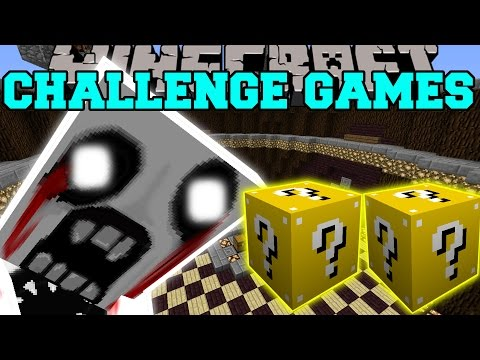 Minecraft: MEGA JOHN CHALLENGE GAMES - Lucky Block Mod - Modded Mini-Game