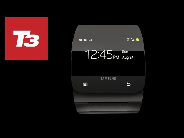Samsung Galaxy Gear Exclusive unoffical 3D render