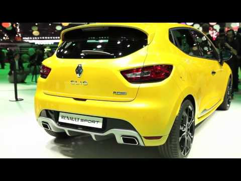 New Renault Clio RS sneak peak – Paris Motor Show 2012