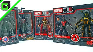 Marvel Studios First 10 Years by Hasbro! Thor, Sif, Ant-man, Yellow Jacket, Red Skull, and Ronan