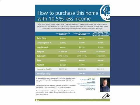 Creative Mortgage Home Loan Financing for Home Buyers and Sellers