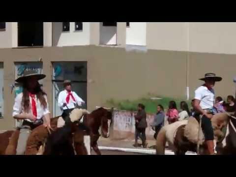 Familia Brum no Desfile 20 de Setembro em Cacequi - RS