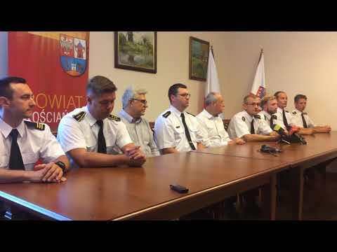Wideo1: Andrzej Ziegler, zastępca komendanta PSP w Kościanie o wyjeździe strażaków do Szwecji