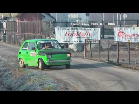 HIT: Waldemar Janecki | Fiat 126 PROTO honda CBR | WRT Rally Oes