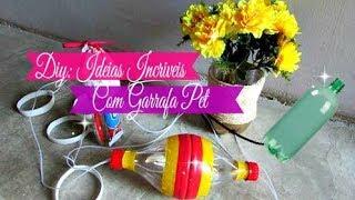 Olá gente linda! Hoje trago mias 3 ideias incríveis usando garrafa PET, espero muito que vocês gostem. Beijos e fiquem com Deus INSCREVA-SE NO CANAL E VENHA FAZER PARTE DESSA FAMILIA:❤️❤️❤️ ME SIGA TAMBÉM NAS REDES SOCIAIS ❤️❤️❤️:Blog: http://dycasdacarla.blogspot.com.br/ Instagram: https://www.instagram.com/dycasdacarla/FanPage: https://www.facebook.com/bycarlaoliveira/?ref=aymt_homepage_panelPARA CONTATO/PARCERIAS:carlafernandoliveira@gmail.comMÚSICAS FREE: YouTube