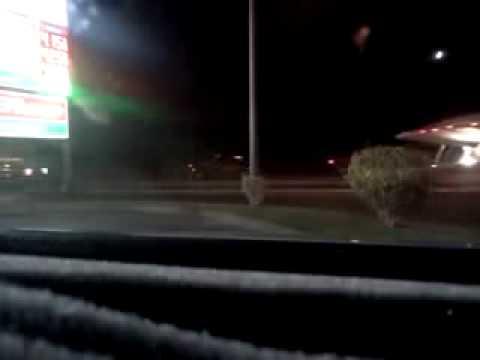 nevada - area 51: polizia scorta un ufo trasportato da un camion