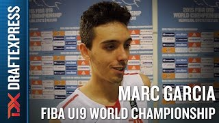 Marc Garcia 2015 FIBA U19 World Championship Interview.